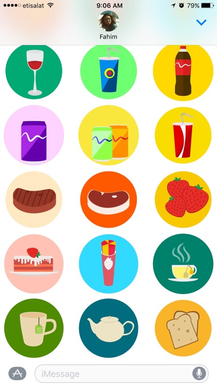 Food Stickers Pack screenshot-4