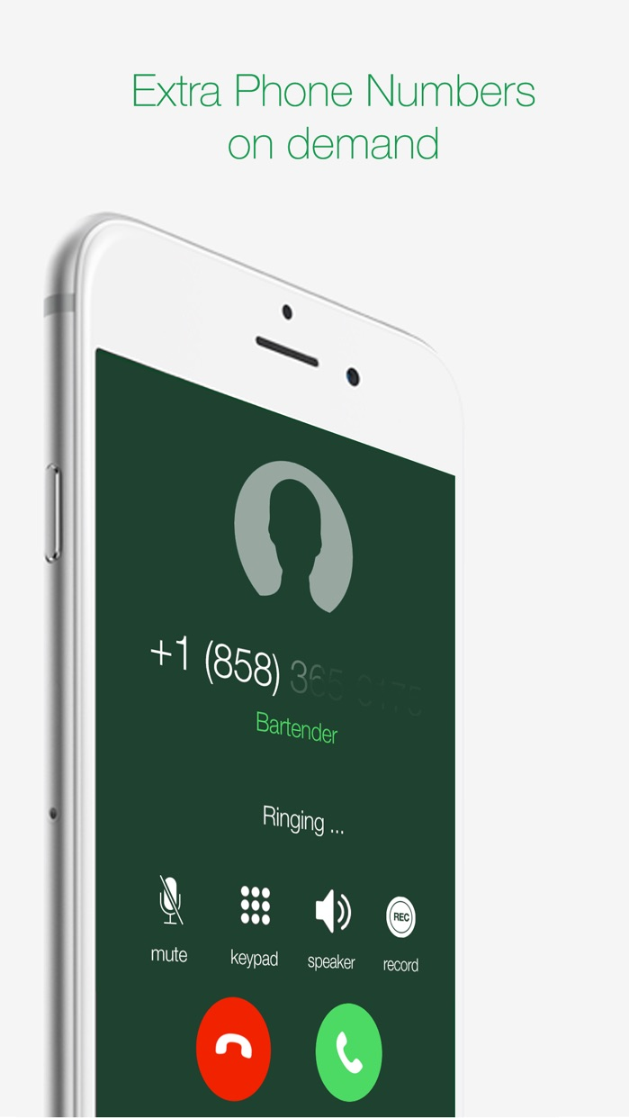 Numflix -  Second Phone Number for Calls and Texts Screenshot