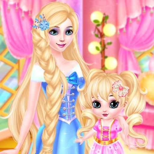 Принцесса и ребенка макияж Spa - макияж