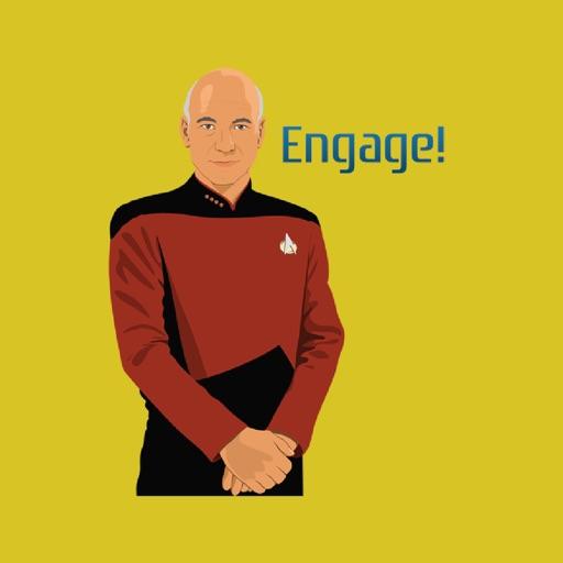 Star Trek The Next Generation Stickers