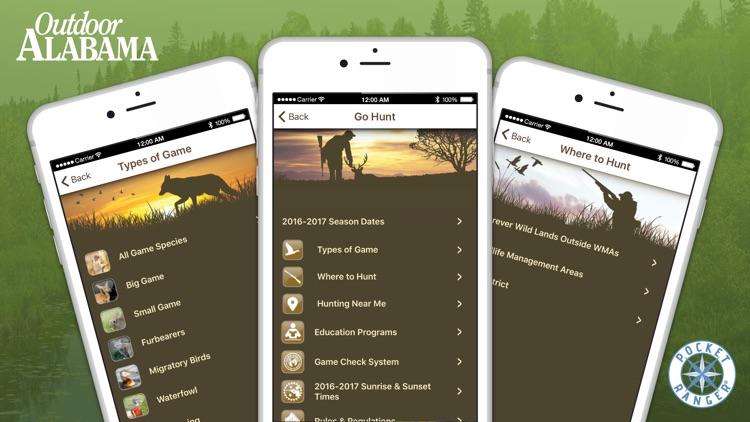 Outdoor AL Fish & Wildlife Guide - Pocket Ranger® screenshot-4