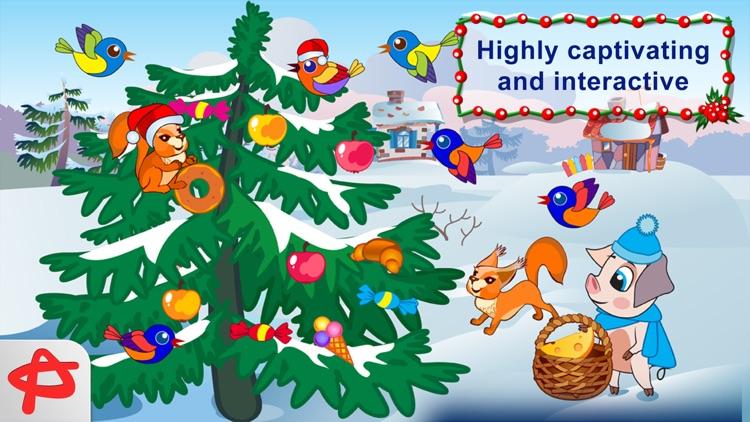 Christmas Night: Three Little Pigs Free Adventure screenshot-3