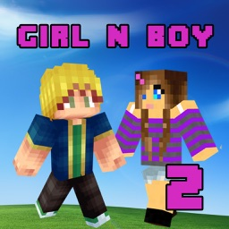Best Girl & Boy Skins for Minecraft PE & PC 2