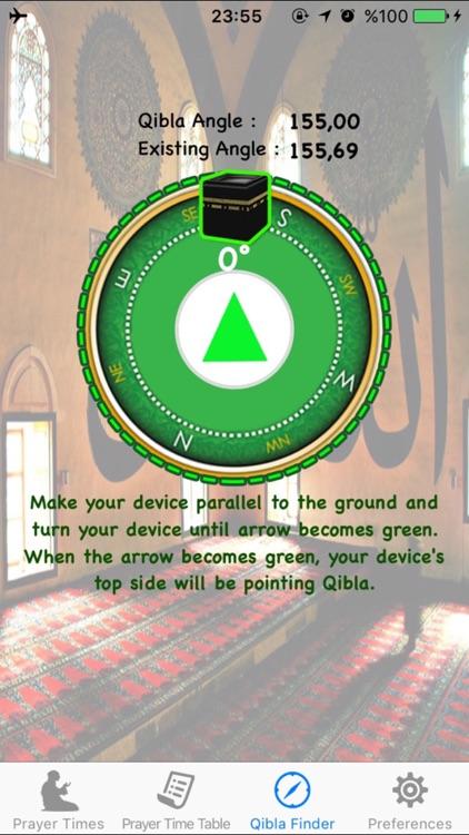 Salat Azan Muslim Prayer Times screenshot-3