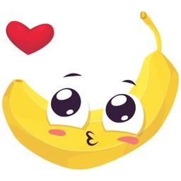 Funny Banana Stickers Vol 01