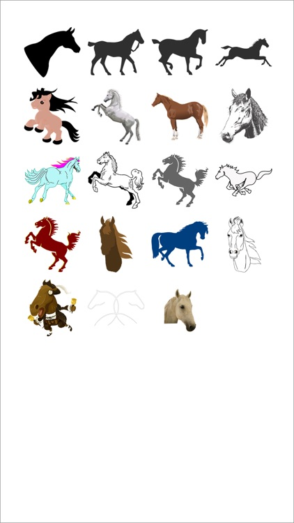 More Horse Stickers