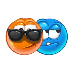 Cool Emoji Faces & Smileys Stickers for iMessage