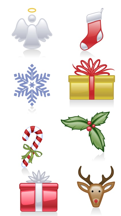 Christmas Holiday Sticker Pack