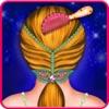 小さなプリンセス髪型髪サロンの女の子ゲーム