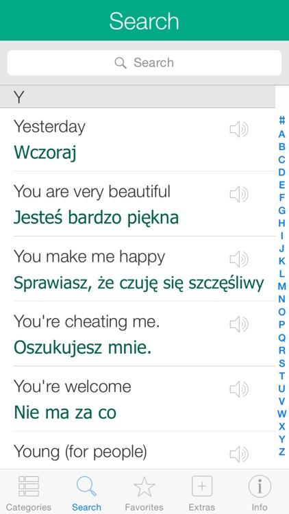 Polish Pretati - Speak with Audio Translation screenshot-3