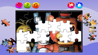 Cartoon Jigsaw Puzzles for Five Nights at Freddy's