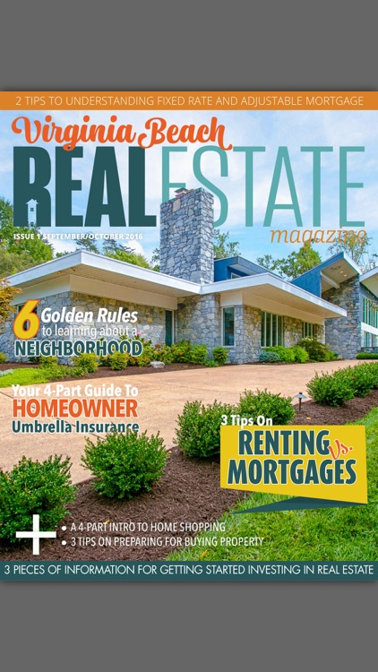Virginia Beach Real Estate Magazine screenshot-0