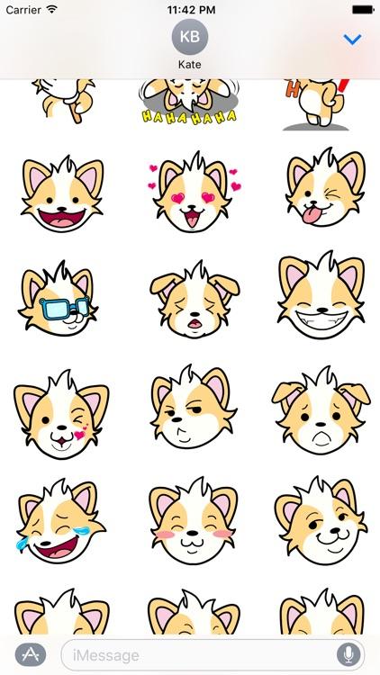 CORGi Stickers for iMessage