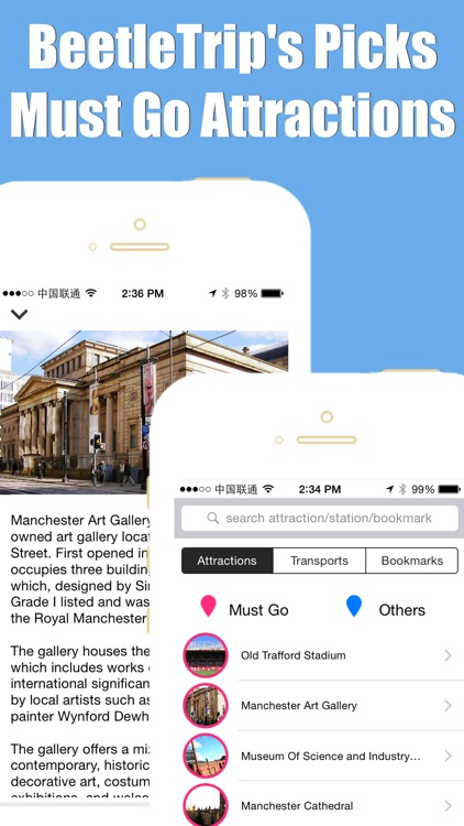 Manchester travel guide and offline city map, Beetletrip Augmented Reality England Metro Train and Walks