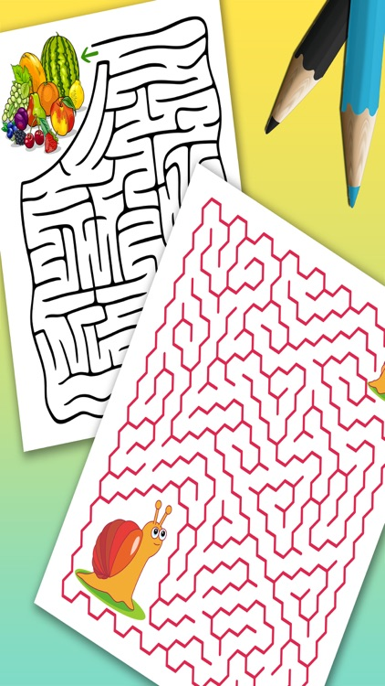 Mazes for kids – brain games & puzzle Pro