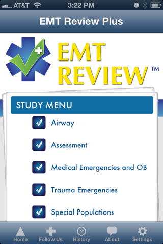 EMT Review Plus screenshot 2