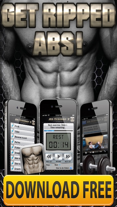 Ab Trainer X FREE+ Six-Pack Abs Exercises Workouts-4