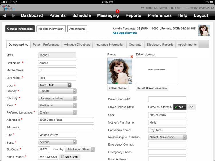 OneTouch EMR screenshot-4