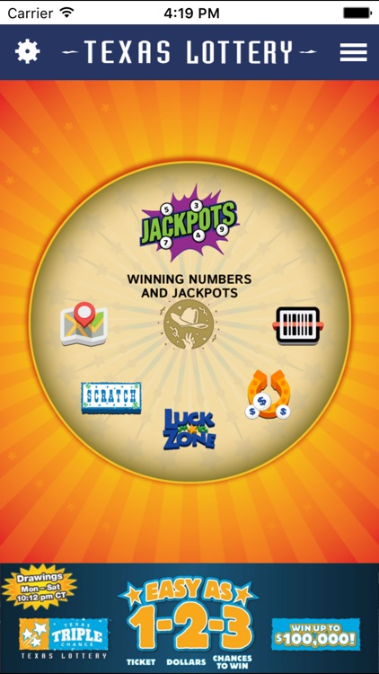 Texas Lottery Official App screenshot-0