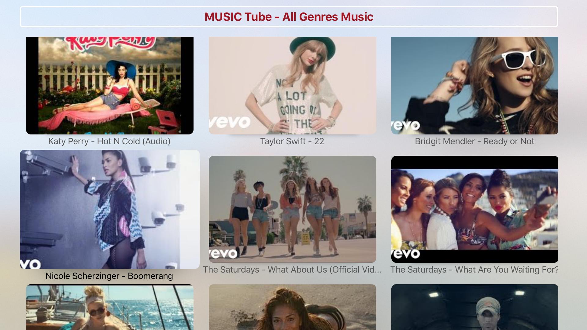 MUSIC Tube - All Genres Music & Videos screenshot 4