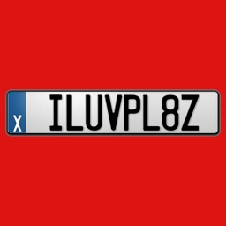 LICENSe PLATe Stickers for iMessage