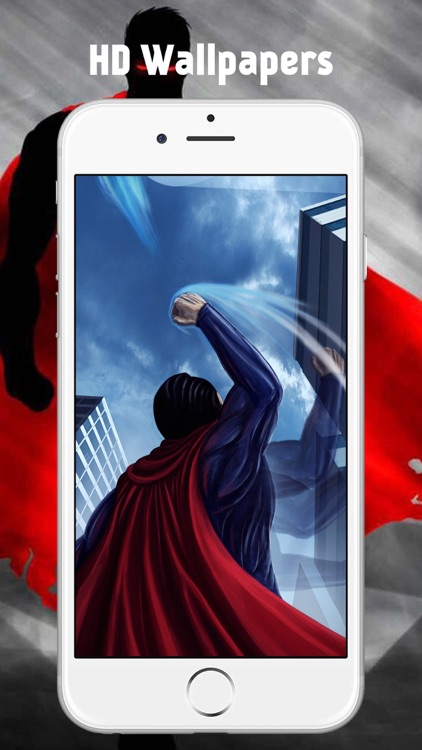 Superhero Comic God Steel Wallpaper for Superman screenshot-0