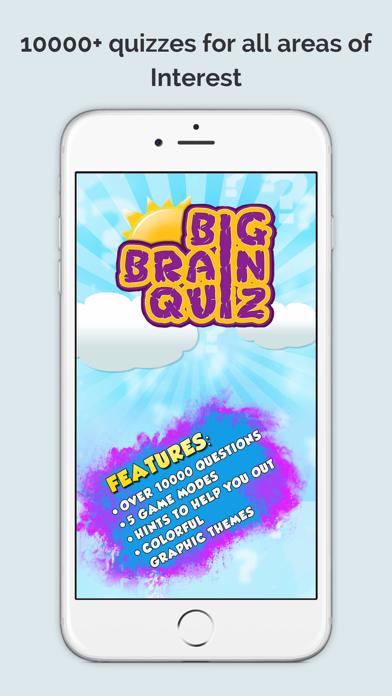 Big Brain Quiz Game screenshot one