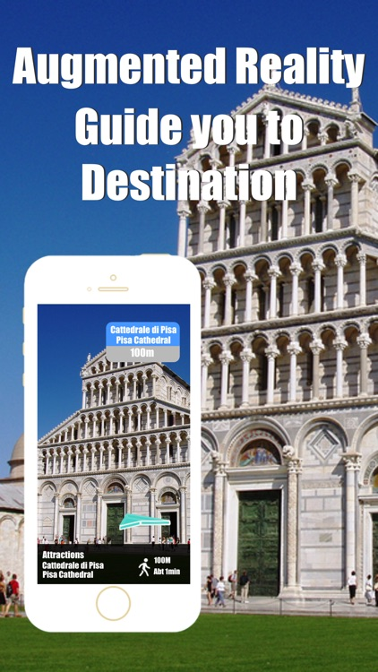 Pisa travel guide and offline city map, Beetletrip Augmented Reality Italy Pisa Metro Train and Walks screenshot-1