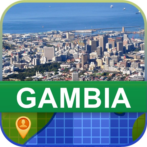 Offline Gambia Map - World Offline Maps