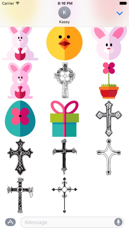 Easter Stickers Pack