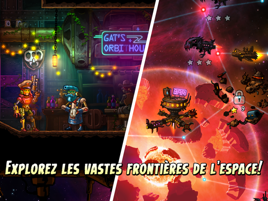 Screenshot #6 pour SteamWorld Heist