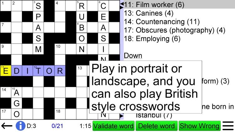 Arrow Crossword screenshot-4