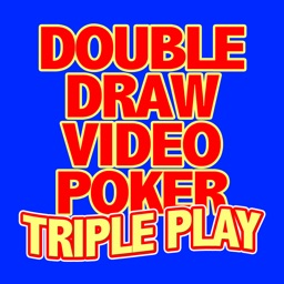 Double Draw Video Poker Triple Play