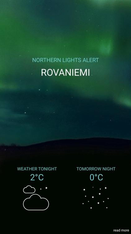 Northern Lights Alert Rovaniemi
