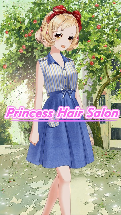 Princess Hair Salon-Beauty girl Dress Up Story screenshot-3