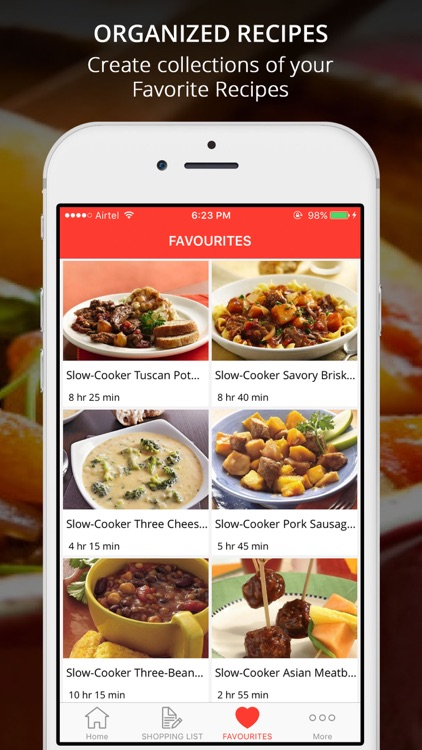 Easy Healthy CrockPot Recipes screenshot-3