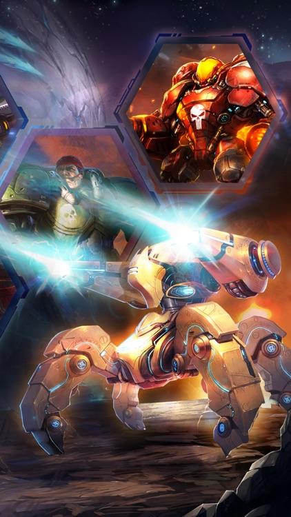 星舰战队 for 星际争霸,无尽的战争手游