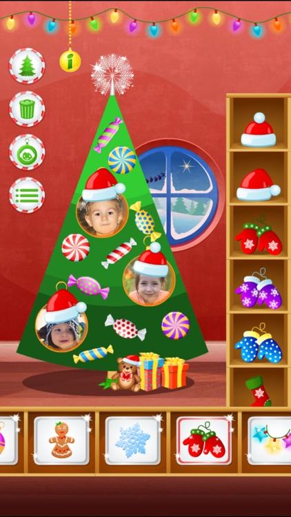 123 Kids Fun Christmas Tree- Christmas games free screenshot-0