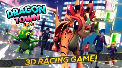 Dragon Town | The Baby Dragons World Racing Sim-0