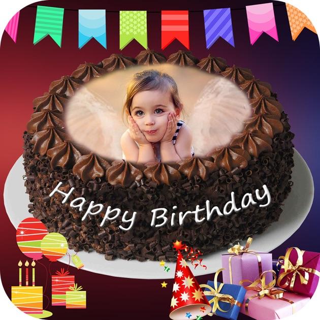 Photo On Birthday Cake App Download
