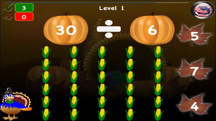 Thanksgiving Games Math Lite