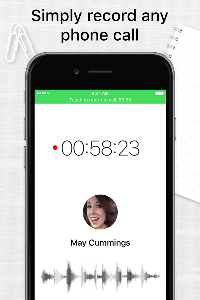 Call recorder app for iphone free download
