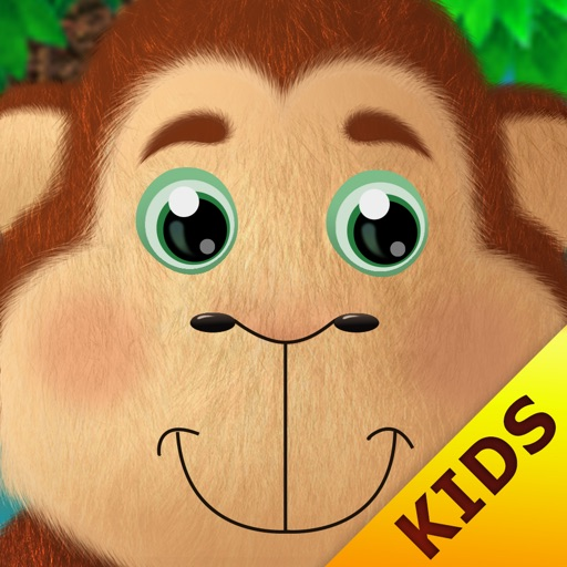 Kids Academy ∙ 5 little monkeys jumping on the bed. Interactive Nursery Rhyme.