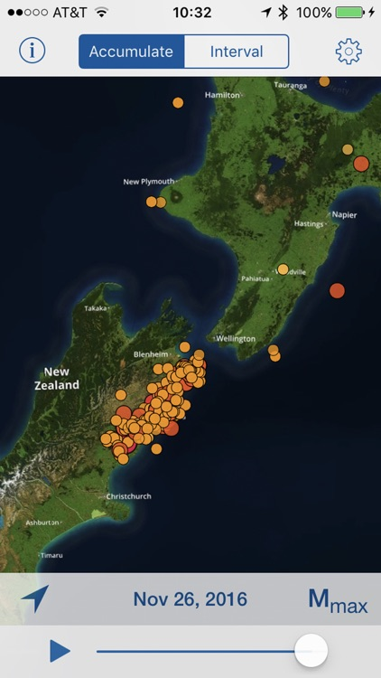 Epicenter: Map Of Worldwide Earthquakes USGS+EMSC