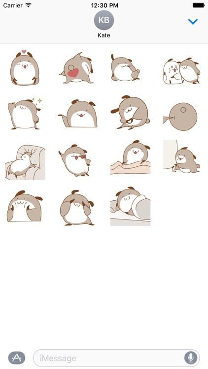 Dog Animated Sticker