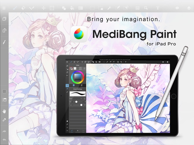 Ipad Retina Wallpaper Art Pain Brush: ‎MediBang Paint For IPad On The App Store