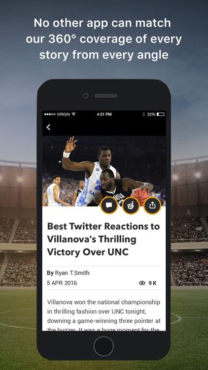 12up - Sports News & Scores screenshot-3