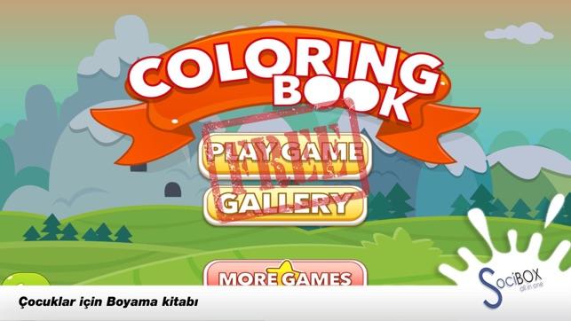 Boyama Kitabı Fare Boyama Oyunu App Storeda