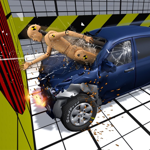 Car Crash Test Simulator iOS App