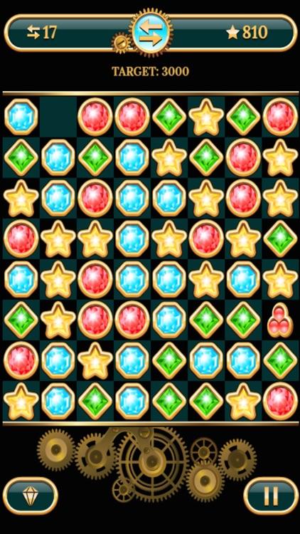 The Diamond Stars And Jewel Match Puzzle Game screenshot-4